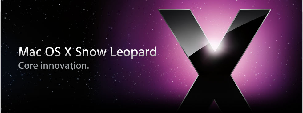 "Dal 28 agosto disponibile Mac OS X 10.6 ""Snow Leopard"""