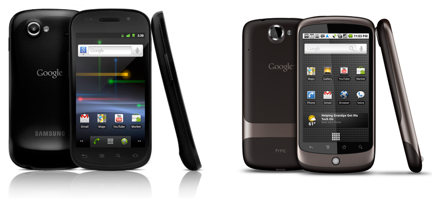 Google-Nexus-S-Confronto-Google-Nexus-One