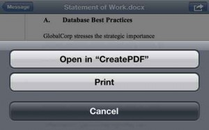 Create Pdf per iPhone